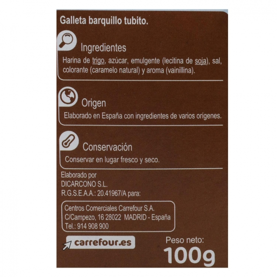 Barquillos Carrefour 100 g. - 1