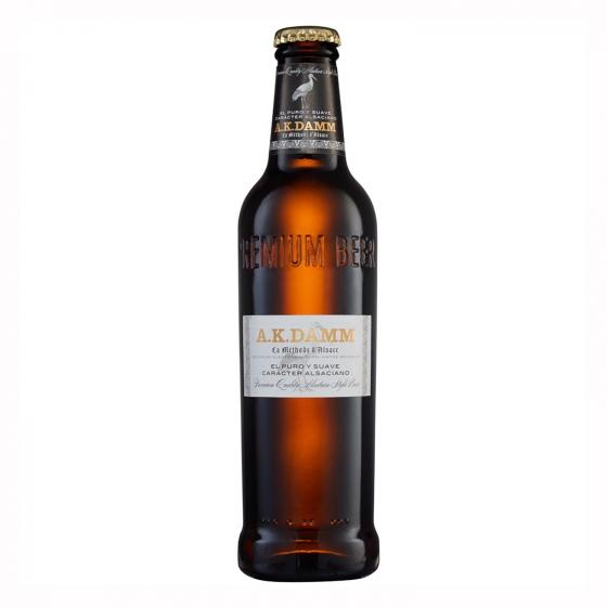 Cerveza Ak Damm botella 33 cl.