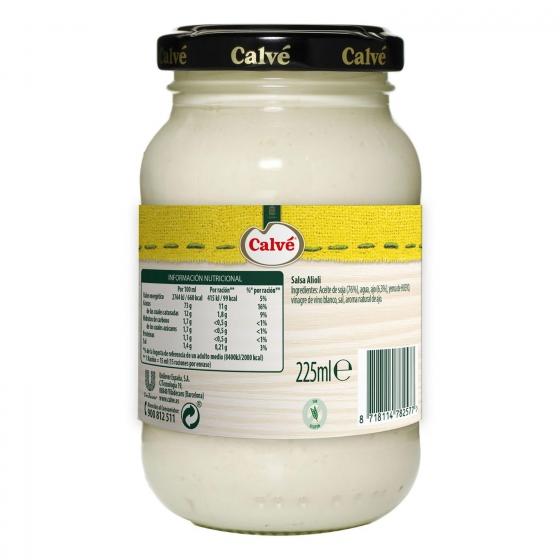 Salsa alioli Calvé tarro 225 ml. - 1