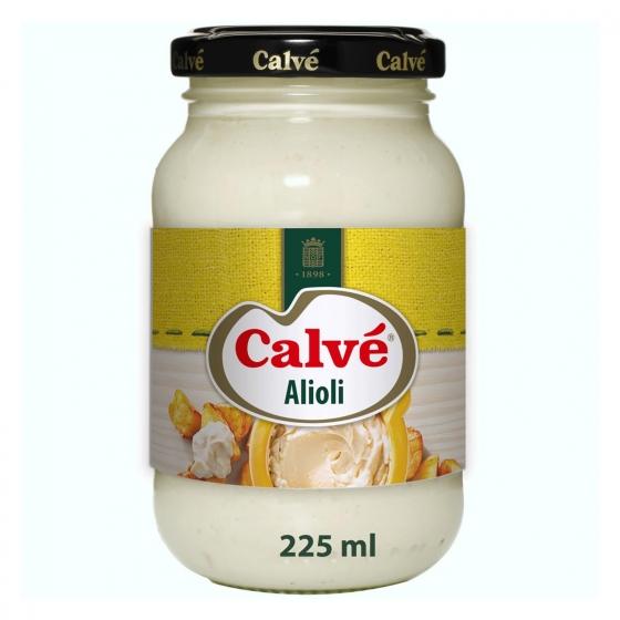 Salsa alioli Calvé tarro 225 ml. - 3