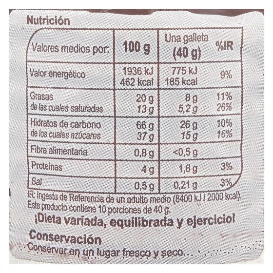Galletas gofres rellenas de caramelo Stroopwafels Carrefour 10 ud. - 3