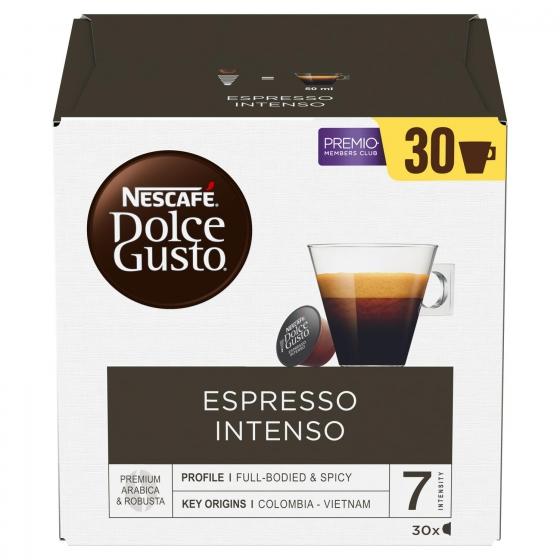 Café espresso intenso en cápsulas Nescafé Dolce Gusto 30 unidades de 8 g. - 4