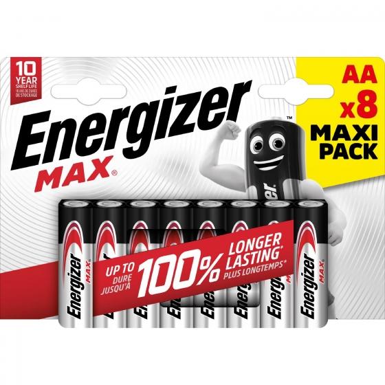 Pack de 8+4 Pilas Alcalinas Uso Frecuente Aa Lr06 Ultra Plus