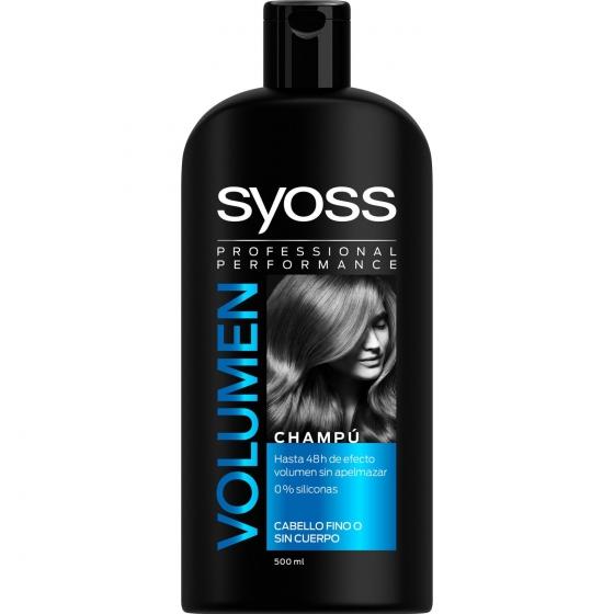 Champú volumen SYOSS 500 ml.