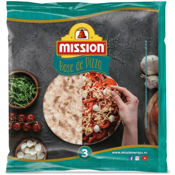 Base para pizza Mission 336 g.