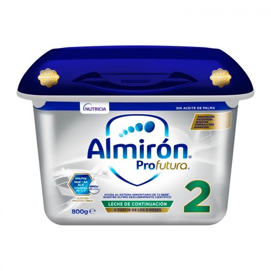 Leche infantil de continuación Almirón Profutura 2 800 g.