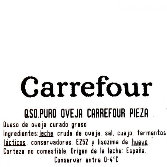 Queso puro de oveja Carrefour al corte 250 g aprox - 3