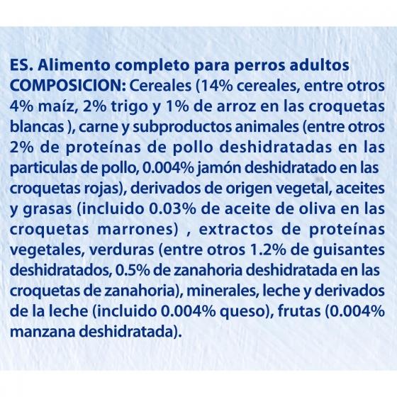 Pienso para perro adulto bon menú Receta Mediterránea 4 Kg. - 4