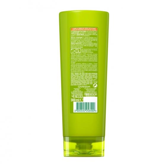 Acondicionador fortificante liso & brillo con aceite de argán para cabello rebelde y dificil de alisar Garnier Fructis 300 ml. - 1