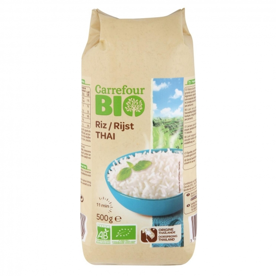 Arroz Thai Carrefour Bio 500 g.