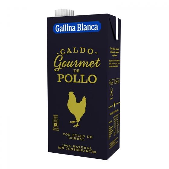 Caldo de pollo Gallina Blanca 1 l.