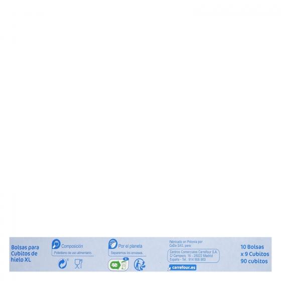 Bolsas de congelación Carrefour 10 ud. - 3