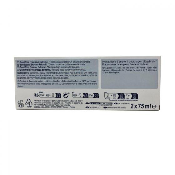 Dentífrico Fresh Dentalyss pack de 2 unidades de 75 ml. - 1