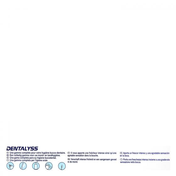 Dentífrico Fresh Dentalyss pack de 2 unidades de 75 ml. - 3