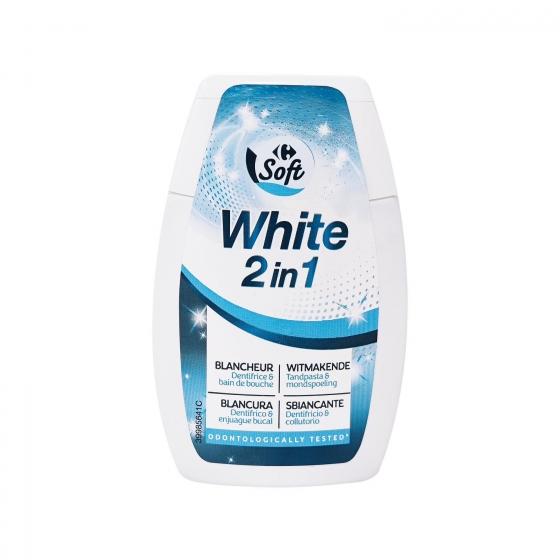 Dentífrico white 2 en 1 Dentalyss 100 ml.