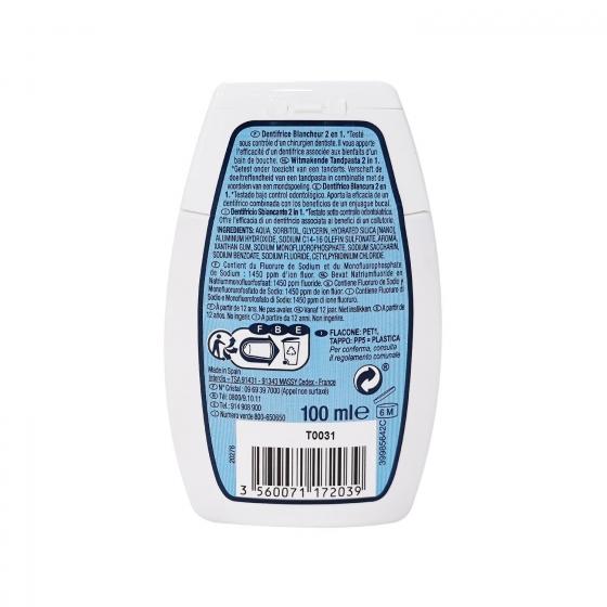 Dentífrico white 2 en 1 Dentalyss 100 ml. - 1