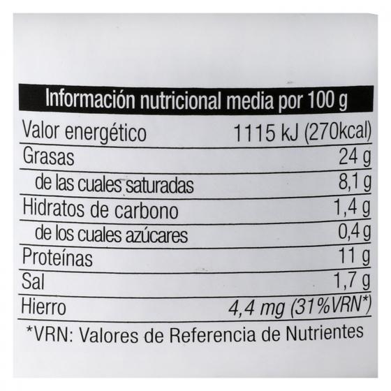 Paté de hígado de cerdo La Piara 115 g. - 3