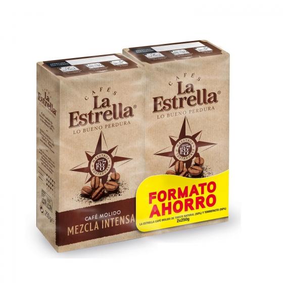 Café molido mezcla express La Estrella pack de 2 unidades de 250 g. - 3