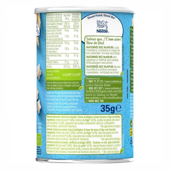 Snacks de plátano Naturnes Bio 35 g. - 3