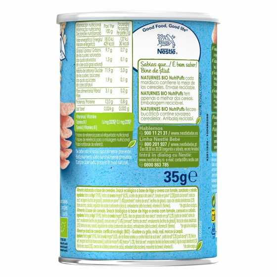 Snacks de tomate Naturnes Bio 35 g. - 3
