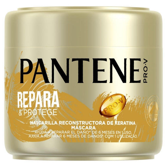Mascarilla capilar Capilar Repara y Protege para cabello normal-grueso Pantene 300 ml.