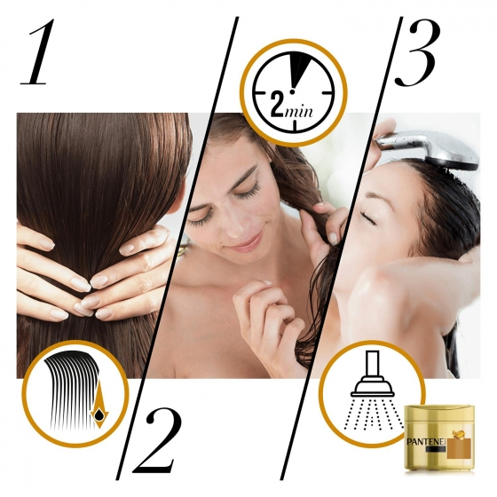 Mascarilla capilar Capilar Repara y Protege para cabello normal-grueso Pantene 300 ml. - 3