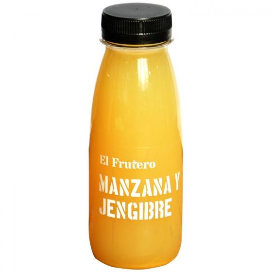 Zumo de manzana y jengibre El Frutero botella 25 cl - 1