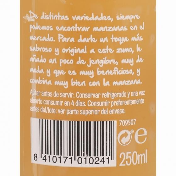 Zumo de manzana y jengibre El Frutero botella 25 cl - 5