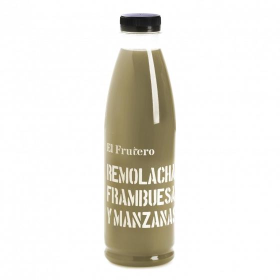 Zumo de kale, pepino, manzana El Frutero botella 75 cl. - 1