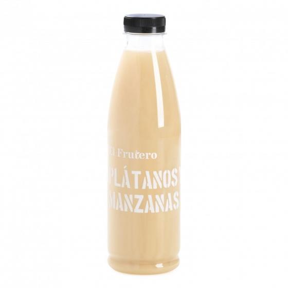 Zumo de plátano y manzana EL Frutero botella 75 cl.