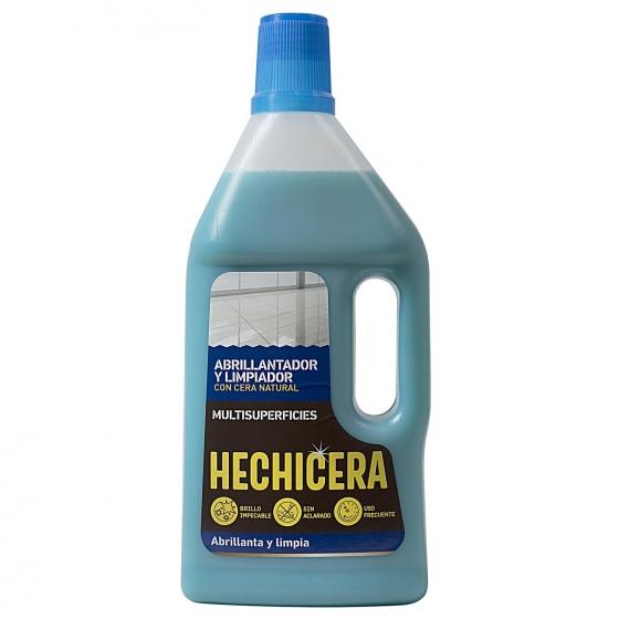 Limpiador abrillantador con cera multisuperficies Hechicera 750 ml.