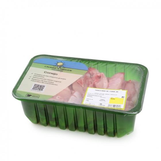 Troceado de Conejo Carrefour Calidad y Origen (Ajillo y Paella) 1 Kg aprox
