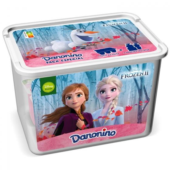 Pack especial Frozen Danonino (Petit fresa 6 ud + Pouches fresa 2 ud)