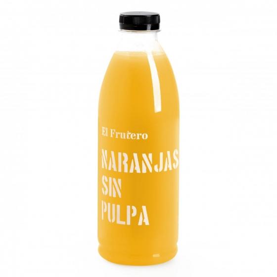 Zumo de naranja sin pulpa El Frutero botella 1 l. - 3