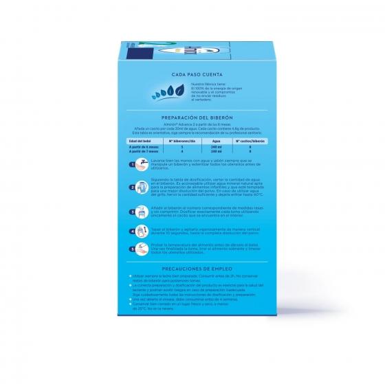 Leche infantil de continuación desde 6 meses en polvo con Pronutra+ Almirón Advance 2 caja 1200 g. - 3