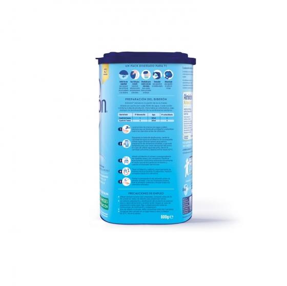 Leche infantil de continuación desde 6 meses en polvo con Pronutra+ Almirón Advance 2 caja 800 g. - 1