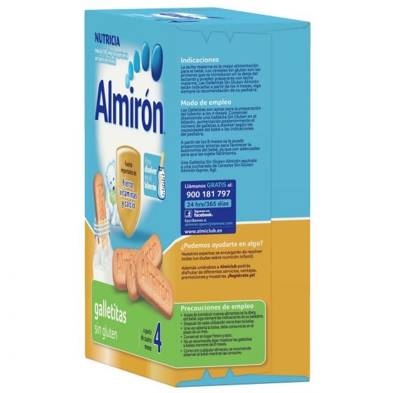 Galletas infantiles desde 4 meses Almirón sin gluten 250 g. - 1