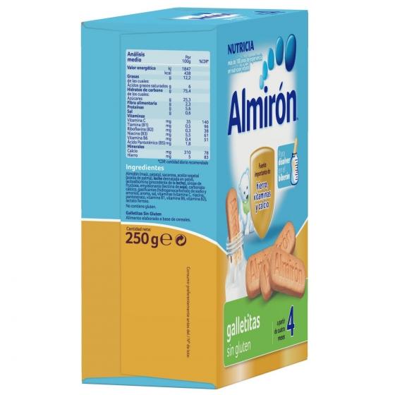 Galletas infantiles desde 4 meses Almirón sin gluten 250 g. - 4