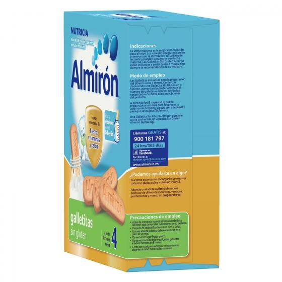 Galletas infantiles desde 4 meses Almirón sin gluten 250 g. - 6