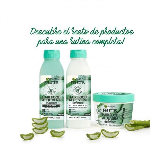 Champú hidratante aloe vera Garnier 350 ml. - 4