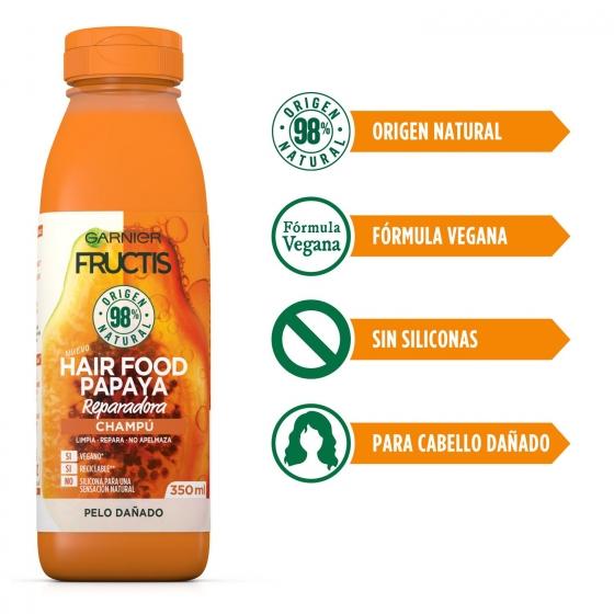 Champú reparador papaya Garnier 350 ml. - 3