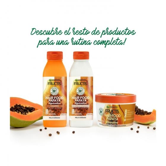 Champú reparador papaya Garnier 350 ml. - 4