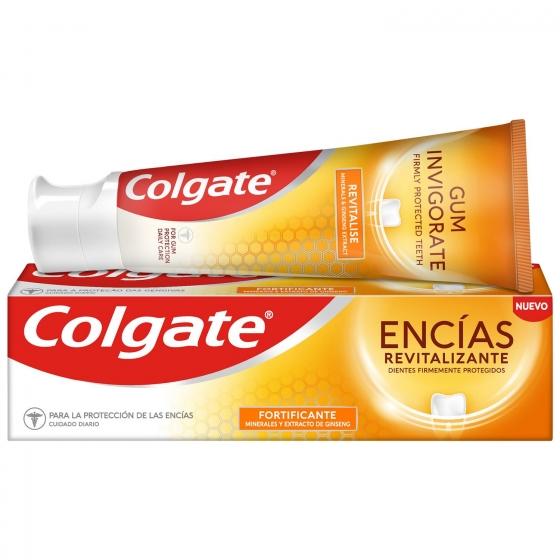 Dentífrico encías revitalizante fortificante Colgate 75 ml.
