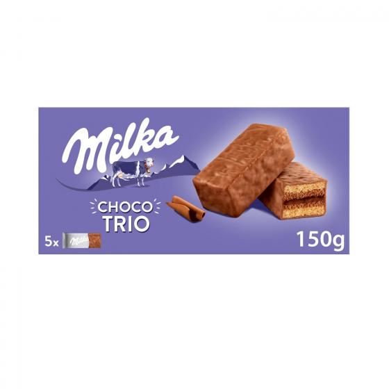Bizcochito Choco Trio Milka 150 g.
