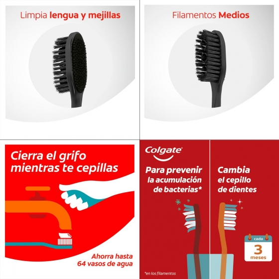 Cepillo dental 360º Colgate 2 ud. - 5