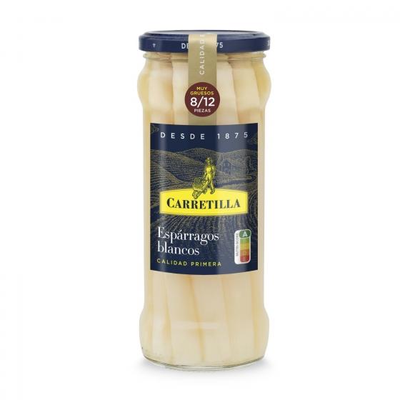 Espárragos blancos 8/12 Carretilla 325 g.