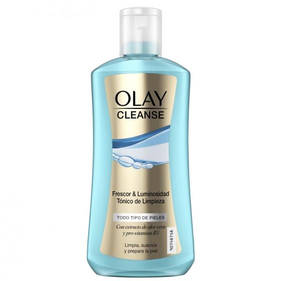 Tónico limpieza frescor & iluminosidad para todo tipo piel Olay Cleanse 200 ml.