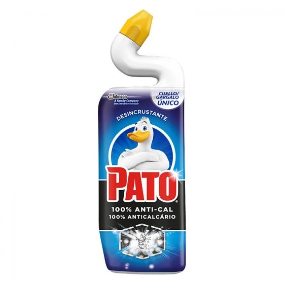Limpiador de inodoro desincrustante anti-cal Pato 750 ml.