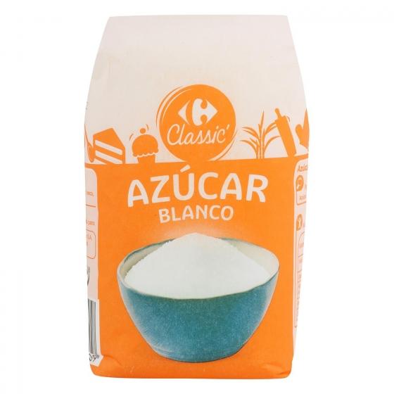 Azúcar blanco Carrefour 1 kg.