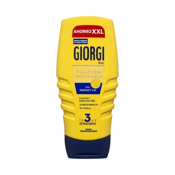 Gel fijador 'Perfec Fix' extra fuerte Giorgi 250 ml.